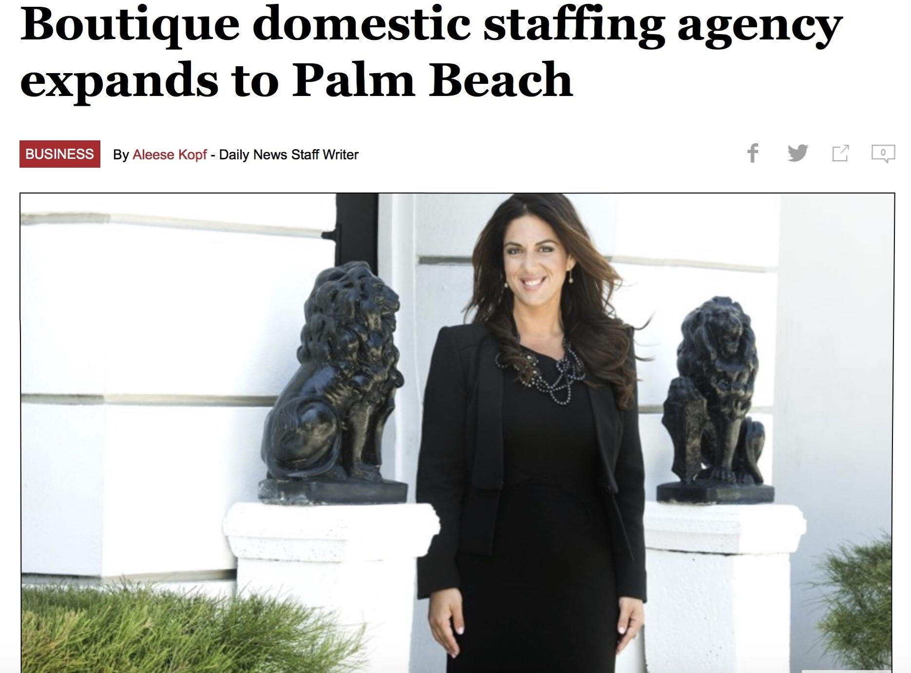 Palm Beach Daily News Page 1