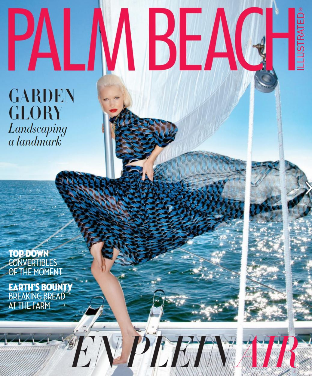 Palm Beach Illustrated Front Cover February 2016