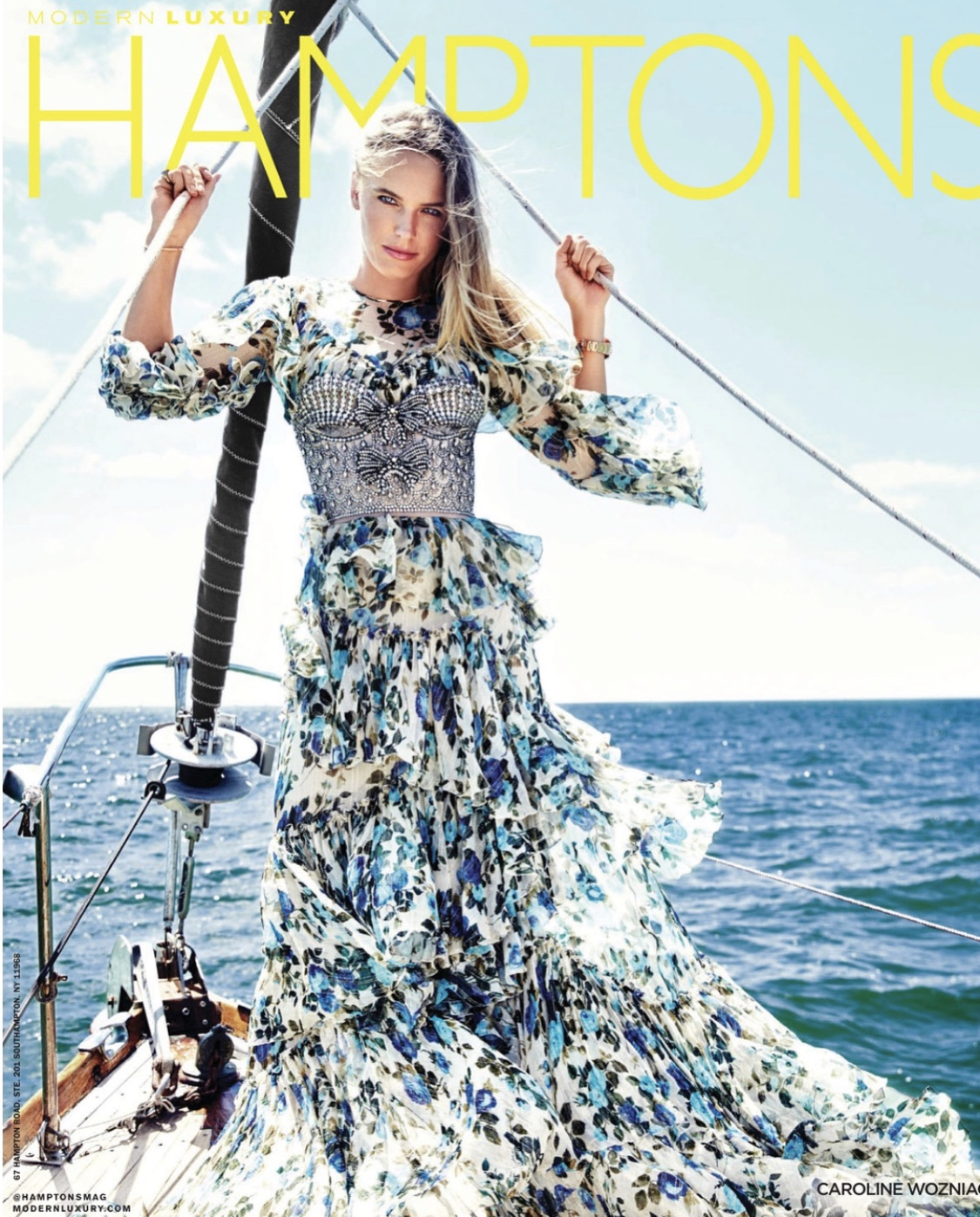 Modern Luxury Hamptons Summer 2018 Cover